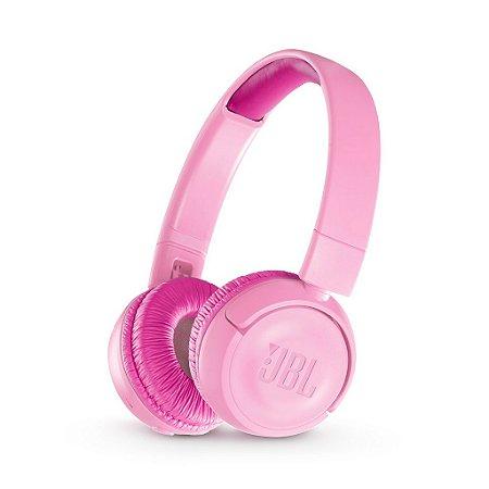 Fone De Ouvido Jbl Jr300 Bluetooth Infantil Kids Rosa