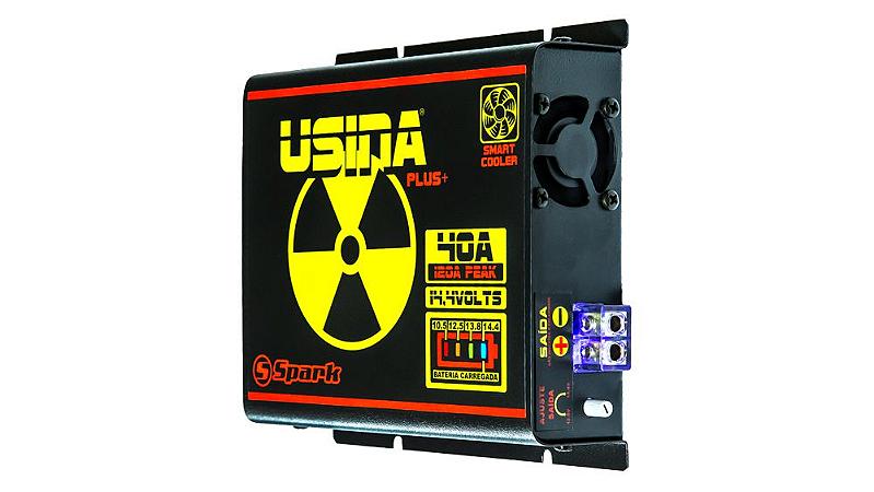 Fonte Automotiva Usina 40a Battery Meter Carregador Bateria