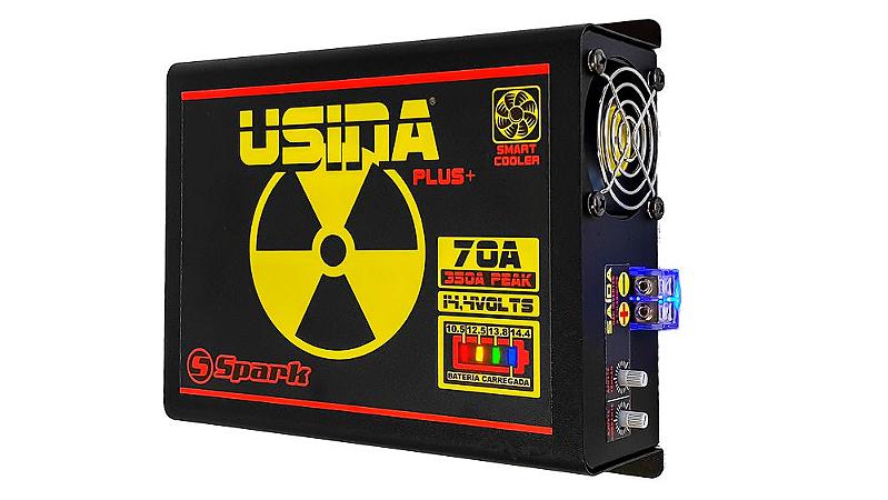 Fonte Automotiva Usina 70a Battery Meter Carregador Bateria