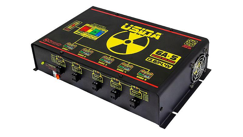Fonte Carregador Usina Hi-volt 5 Saídas 6a Carregador Inteligente Alta Voltagem
