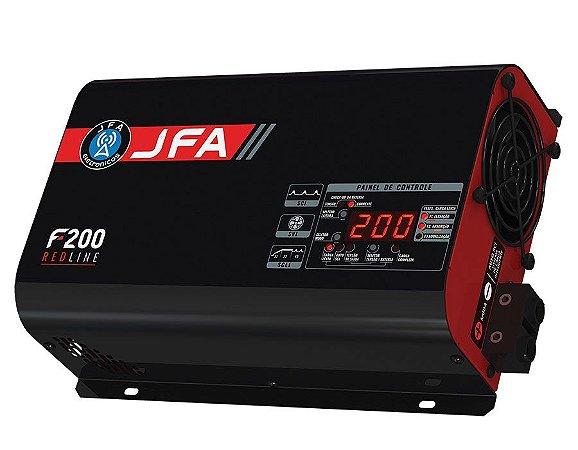 Fonte JFA 200A Redline Bi-Volt Carga Inteligente F200
