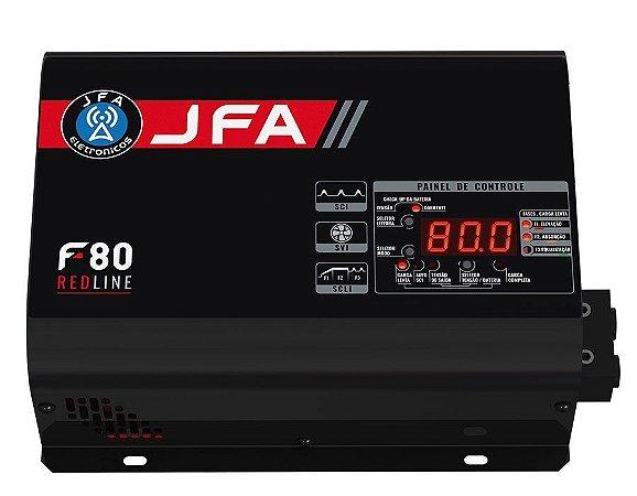 Fonte JFA 80A Redline Bi-Volt Carga Inteligente F80