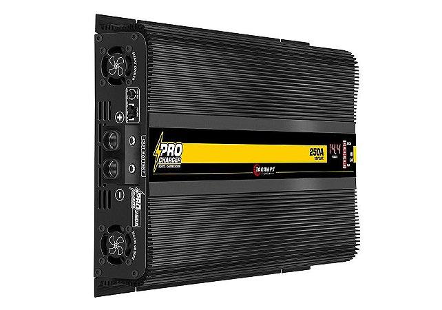 Fonte Carregador Taramps Pro Charger 250A Digital com Voltimetro