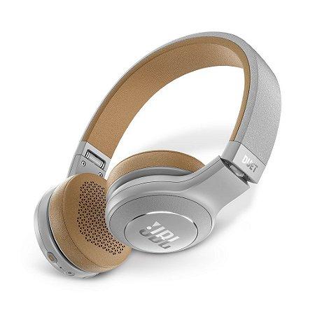 Headphone Jbl Duet Bluetooth Over Ear Cancelamento De Ruido Cinza