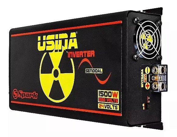 Inversor De Tensão Senoidal Usina Inverter 1500w 24v 220v