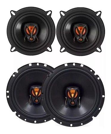 Kit 4 Alto Falante Jbl 6 200w Rms Gm Sonic 5 E 6 Polegadas