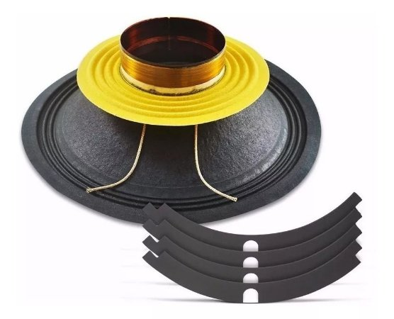 Kit Reparo Woofer Snake Esx810 10 Polegadas 400 Rms Completo