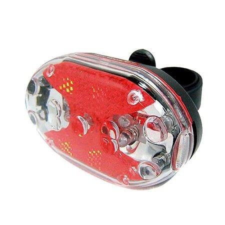 Lanterna Atrio Farol Traseira Bike Led Bi005