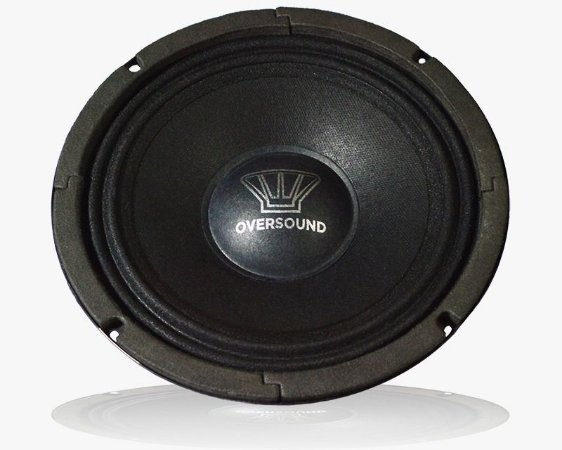 "Medio Grave Oversound Steel 8"" 150W RMS 8 Ohms"
