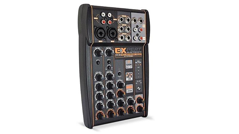 Mesa De Som Automotivo Expert Mx2 12v Stereo