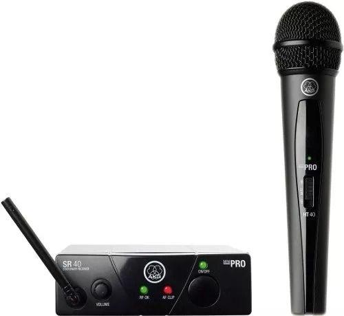 Microfone Sem Fio Akg Wms40 Mini Vocal Us25a Bluetooth