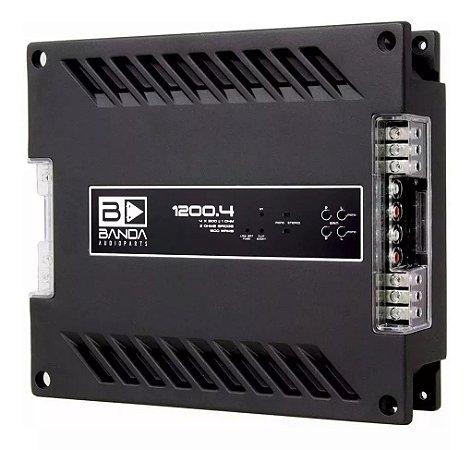 Modulo Amplificador Banda 1200.4 1200W/Rms 1 Ohm