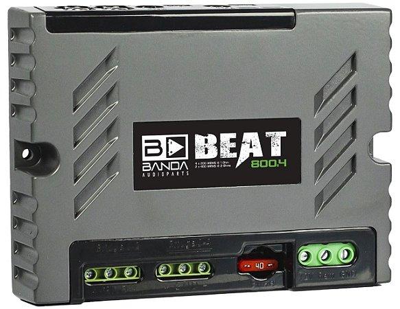 Modulo Amplificador Banda BEAT 800.4 800W/Rms  1Ohm