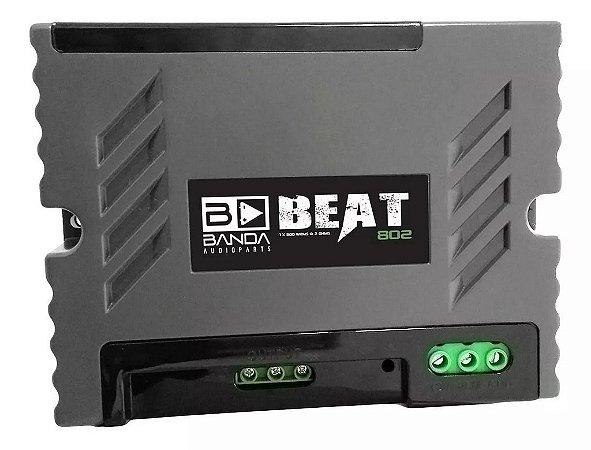 Módulo Amplificador Banda Beat 802 800w 2 Ohms 1 Canal