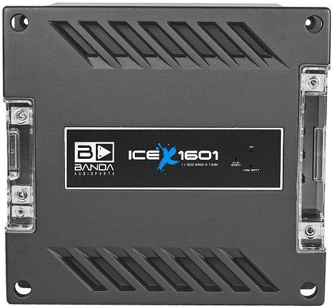 Modulo Amplificador Banda ICE X 1601 1600W/Rms 1 Canal 1 Ohm