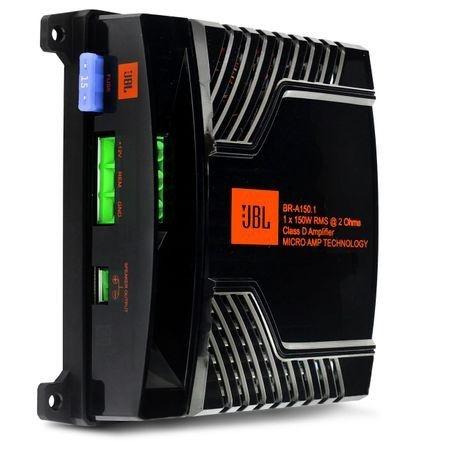Módulo Amplificador Digital JBL Br-a 150.1 1 canal 150W Rms 2 Ohms