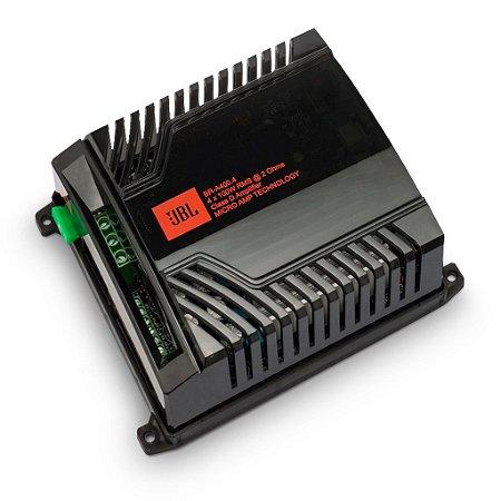 Módulo Amplificador Digital JBL Br-a 400.4 4 canais 400W Rms 2 Ohms