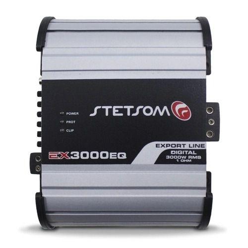Modulo Amplificador Stetsom EX3000EQ 3000W RMS 1 Ohm 1 Canal