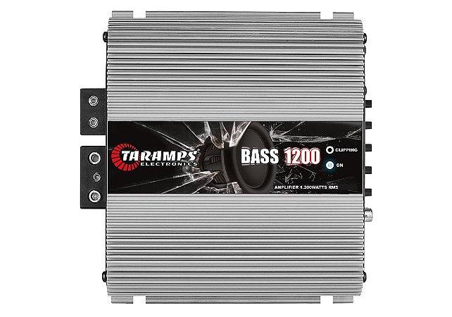 Módulo Amplificador Taramps Bass1200w 1200 Rms 2 canais 2ohms