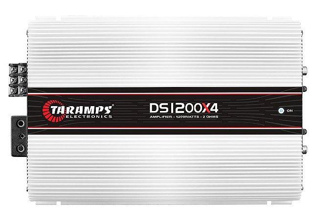 Módulo Amplificador Taramps DS1200x4 1200w Rms 4 Canais 2 ohms