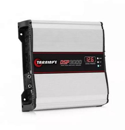 Módulo Amplificador Taramps DSP3000 3000w Rms 1 Canal 1 ohm