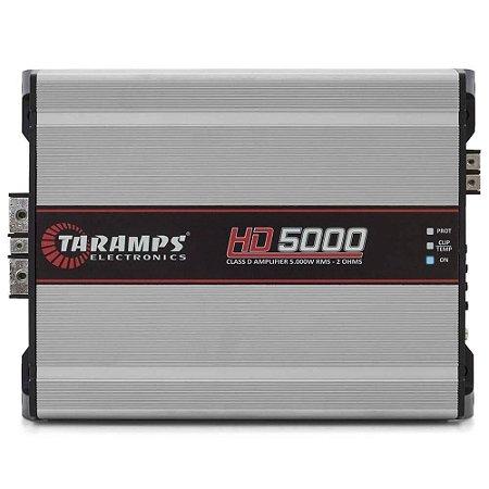 Módulo Amplificador Taramps HD5000 5000w Premier Rms 1 Canal 1 ohm