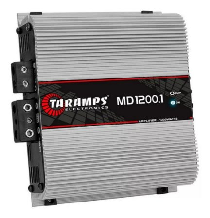 Modulo Amplificador Taramps Md1200.1 2 Ohms 1200w Rms 1 Canal
