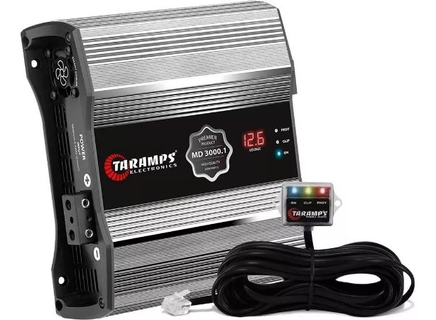 Módulo Amplificador Taramps Md3000.1 Premier 3000w Rms 1 Canal 4 ohms