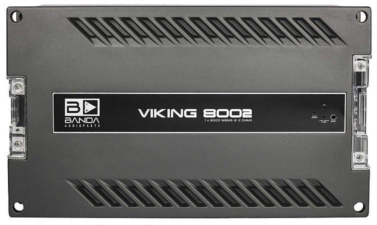 Modulo Banda Viking 8002 W Rms 2 Ohms Amplificador Digital