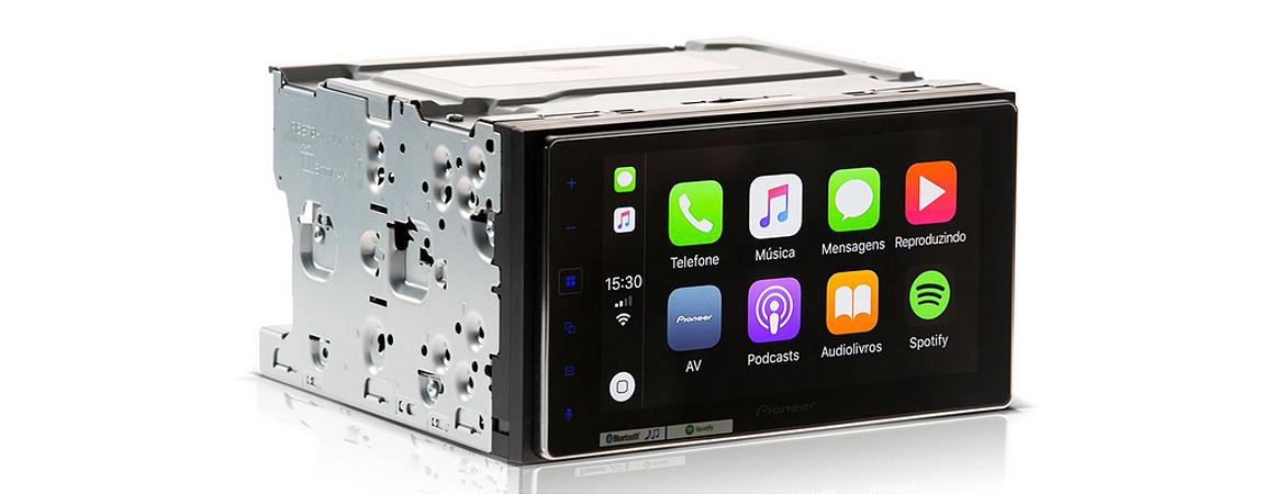 Multímidia Pioneer SPH-DA138TV Touch 6,2 Bt Spotify Waze Usb