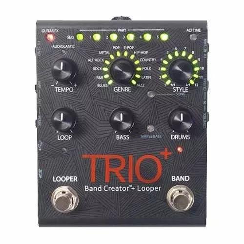 Pedal De Efeito Digitech Trio+ Plus Guitarra Pro Pedaleira