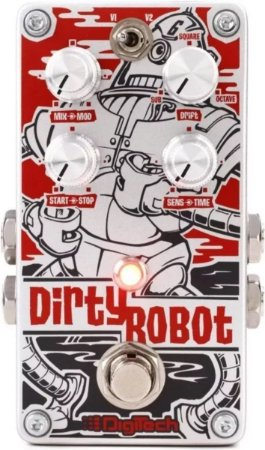 Pedal Digitech Dirty Robot Stéreo Mini-synth Pedaleira