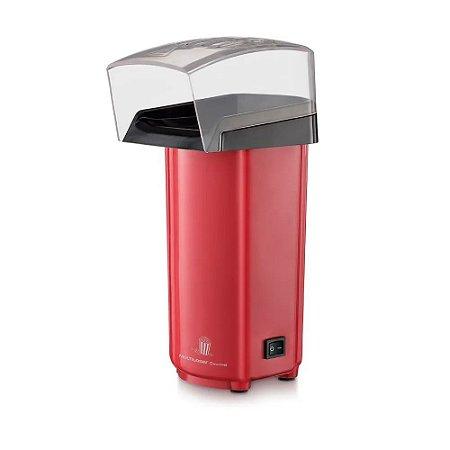 Pipoqueira Elétrica Gourmet Sem Oleo 0% De Gordura 900w 220v Vermelha