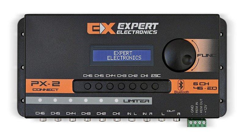 Processador Crossover Expert PX2 Connect Bluetooth