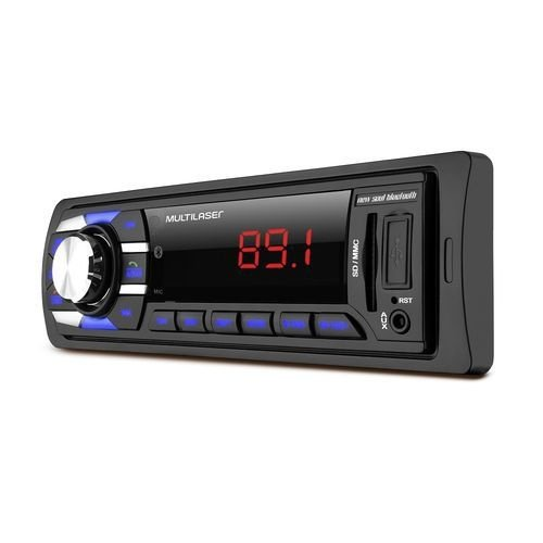 Radio Automotivo Multilaser New Soul BT Bluetooth MP3 Player