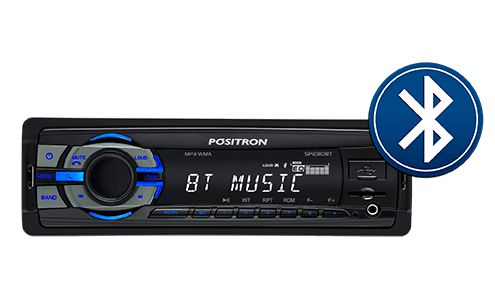 Radio Mp3 Player Positron Sp2310bt Bluetooth Usb Spotify Viva Voz