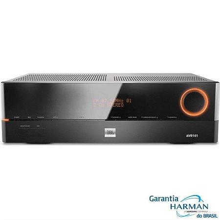 Receiver JBL AVR101/230BR 5.1 Canais 375W HDMI 3D USB 220V