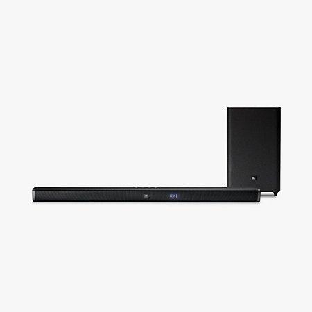 Soundbar JBL 2.1 Preto Hdmi Para Conexão 4k Bluetooth 100W