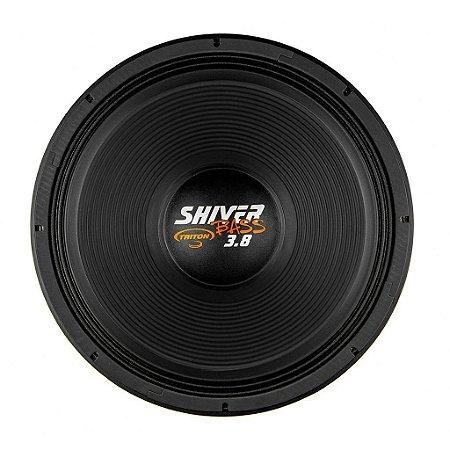 """Alto Falante Woofer Triton Shiver Bass 18"""" 3.8K 1900W RMS 4 ohms"""
