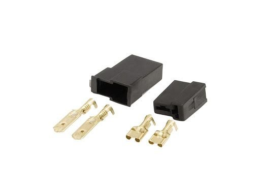 Conector Automotivo 2 Vias Permak Kit com 10