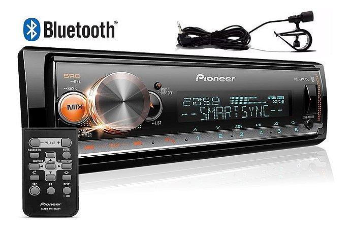 Rádio MP3 Player Pioneer MVH X300BR