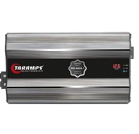 Módulo Taramps Md 8000.1 Premier 8000w Amplificador 2 Ohms