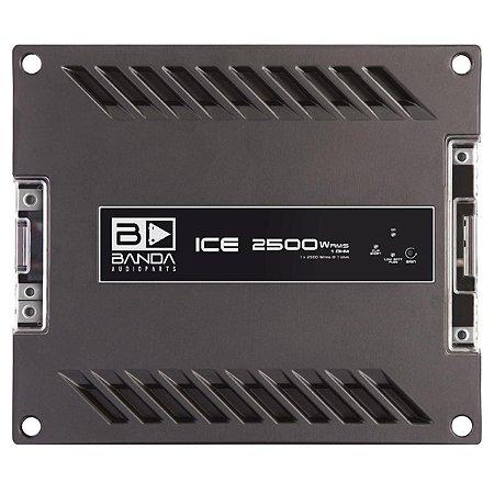 Módulo Amplificador Banda  Ice X 2501 2500W Rms 1 Ohm 1 Canal