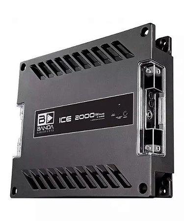 Módulo Amplificador Banda Ice 2000W Rms 1 Canal 1 Ohm