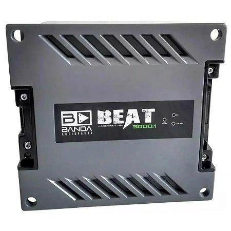 Módulo Amplificador Banda Beat 3000.1 2 Ohms