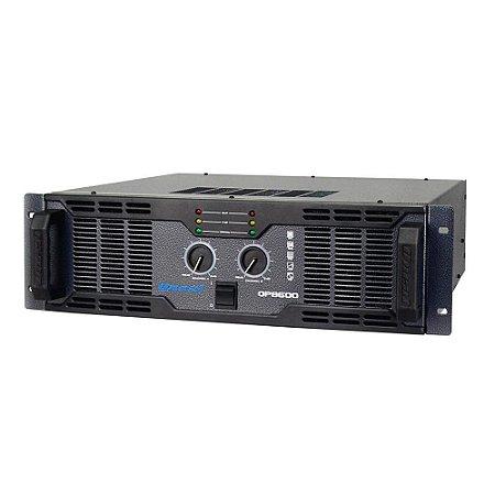 Amplificador de Som Profissional Oneal OP 8600 2000W Rms