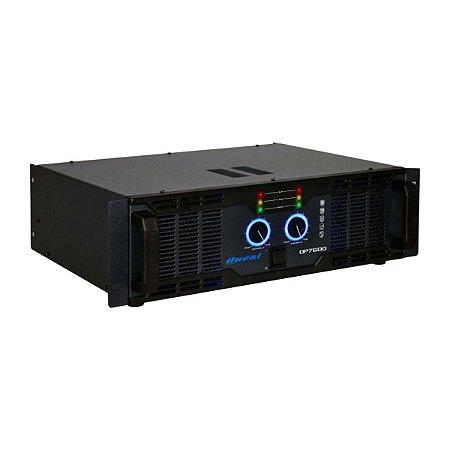 Amplificador de Som Porfissional Oneal OP 7602 1400W Rms
