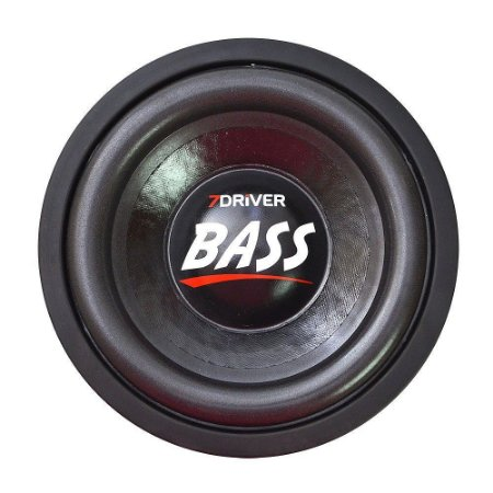 Alto Falante 7Driver 10 Polegadas Bass 1k2 2+2