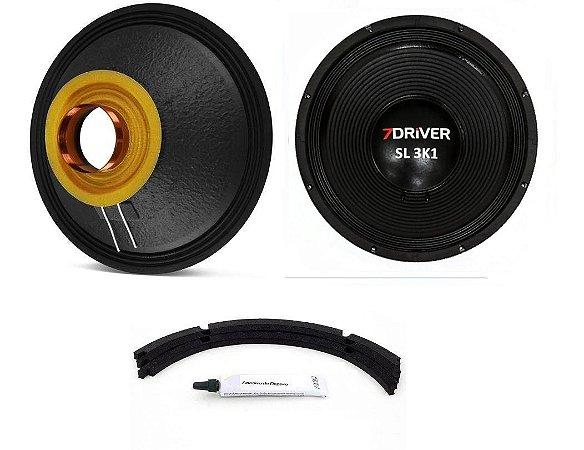 Kit Reparo 7Driver 18 Polegadas SL 3K1 8 Ohms