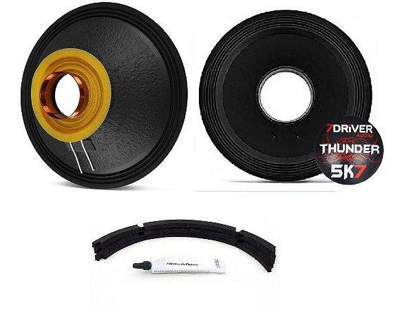 Kit Reparo 7 Driver 12p Thunder 5k7 2850w Rms Grave 2 Ohms